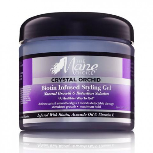 The Mane Choice - Crystal Orchid Biotin Infused Styling Gel (16oz)