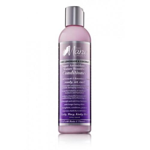 The Mane Choice - Pink Lemonade & Coconut Super Antioxidant & Texture Beautifier Conditioner (8oz)