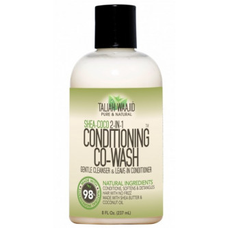 Taliah Waajid - Shea-Coco 2-in-1 Conditioning Co-Wash (8oz)