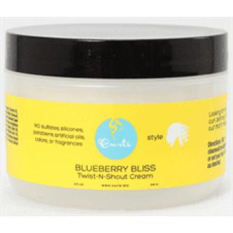 Curls - Blueberry Bliss Twist N Shout Cream (8oz)